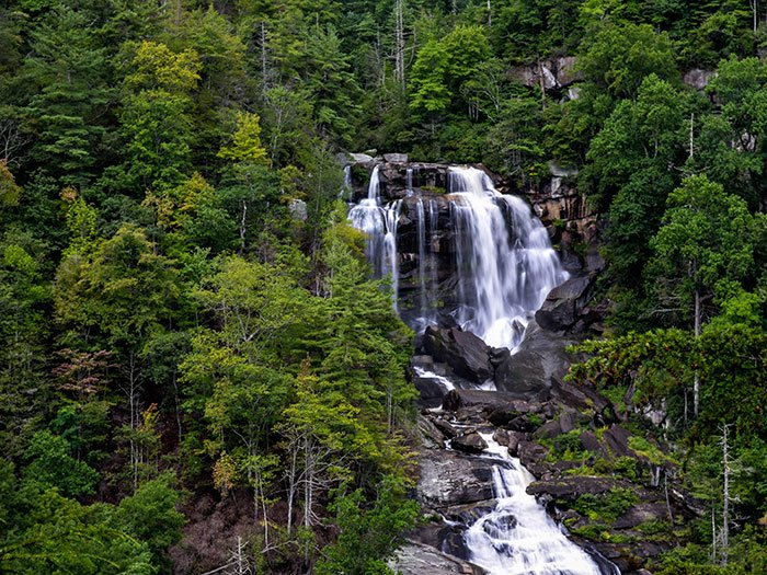 Upper Whitewater Falls near French Broad Falls