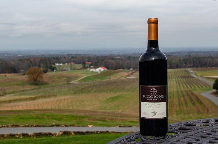 Piccione Yadkin Valley Wineries